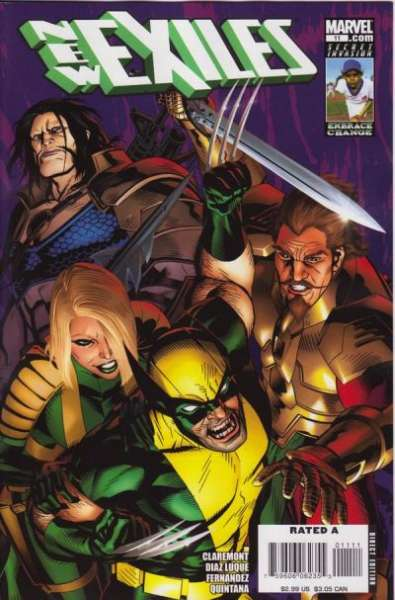 New Exiles #11 comic books - cover scans photos New Exiles #11 comic books - covers, picture gallery