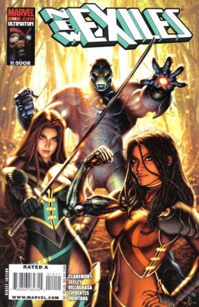 New Exiles #14 comic books - cover scans photos New Exiles #14 comic books - covers, picture gallery