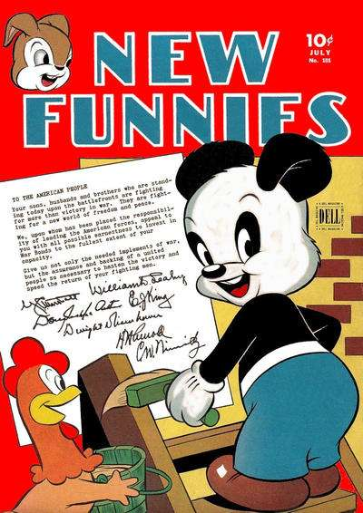 New Funnies #101 Comic Books - Covers, Scans, Photos  in New Funnies Comic Books - Covers, Scans, Gallery