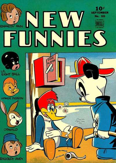 New Funnies #103 comic books - cover scans photos New Funnies #103 comic books - covers, picture gallery
