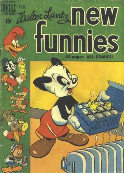 New Funnies #158 comic books - cover scans photos New Funnies #158 comic books - covers, picture gallery