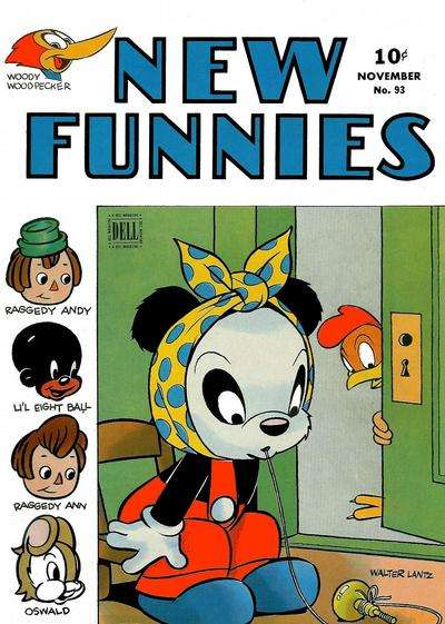New Funnies #93 Comic Books - Covers, Scans, Photos  in New Funnies Comic Books - Covers, Scans, Gallery