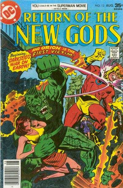 New Gods #13 comic books for sale