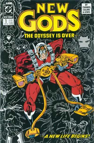 New Gods comic books