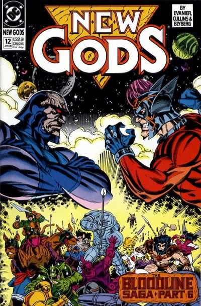 New Gods #12 comic books - cover scans photos New Gods #12 comic books - covers, picture gallery