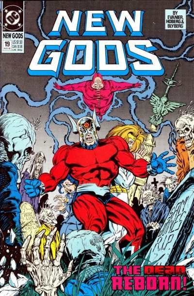 New Gods #19 comic books - cover scans photos New Gods #19 comic books - covers, picture gallery