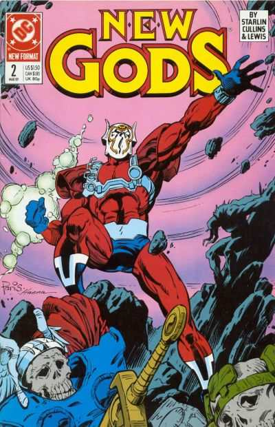 New Gods #2 comic books - cover scans photos New Gods #2 comic books - covers, picture gallery