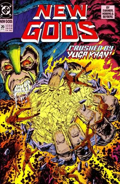 New Gods #20 comic books - cover scans photos New Gods #20 comic books - covers, picture gallery