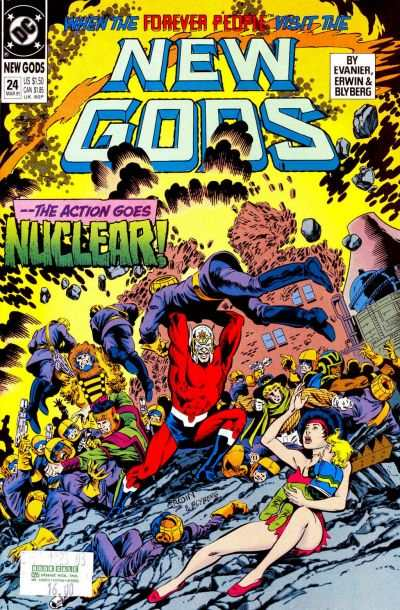 New Gods #24 comic books - cover scans photos New Gods #24 comic books - covers, picture gallery