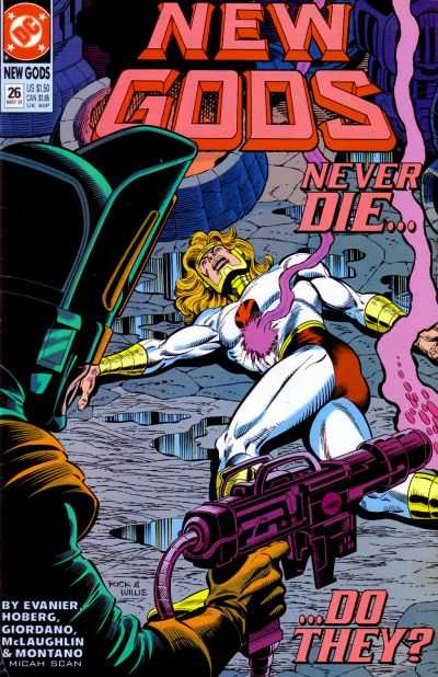 New Gods #26 comic books - cover scans photos New Gods #26 comic books - covers, picture gallery