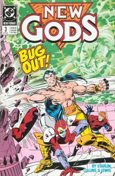 New Gods #3 Comic Books - Covers, Scans, Photos  in New Gods Comic Books - Covers, Scans, Gallery