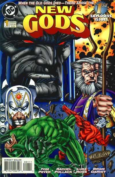 New Gods #1 comic books - cover scans photos New Gods #1 comic books - covers, picture gallery