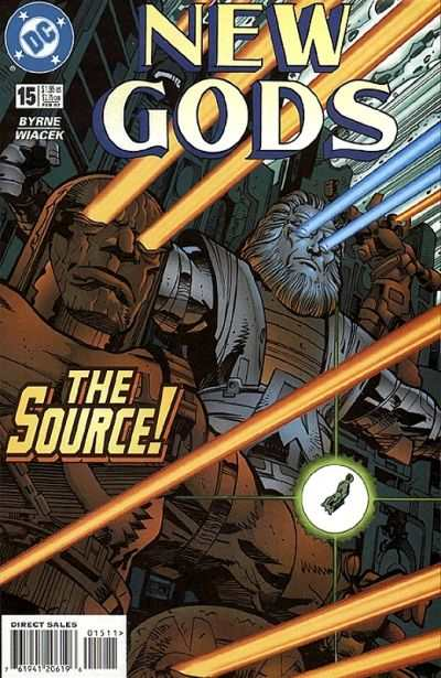 New Gods #15 comic books - cover scans photos New Gods #15 comic books - covers, picture gallery