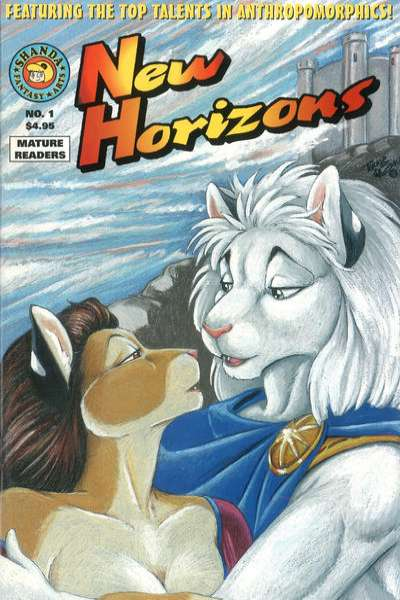 New Horizons comic books