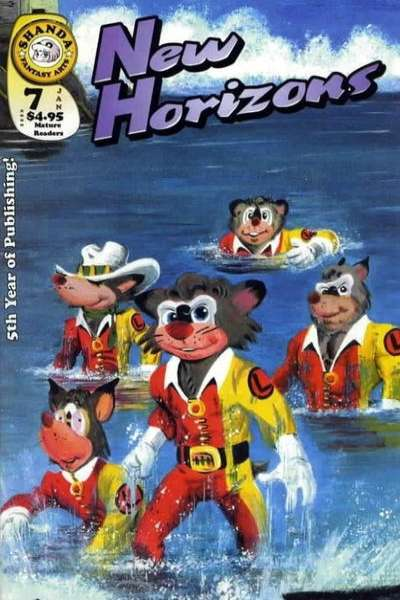 New Horizons #7 comic books - cover scans photos New Horizons #7 comic books - covers, picture gallery