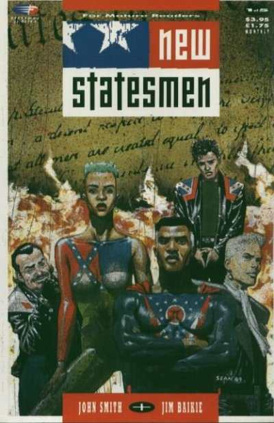 New Statesmen #1 comic books - cover scans photos New Statesmen #1 comic books - covers, picture gallery