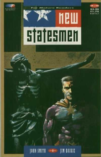 New Statesmen #2 comic books - cover scans photos New Statesmen #2 comic books - covers, picture gallery