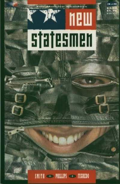 New Statesmen #3 comic books - cover scans photos New Statesmen #3 comic books - covers, picture gallery