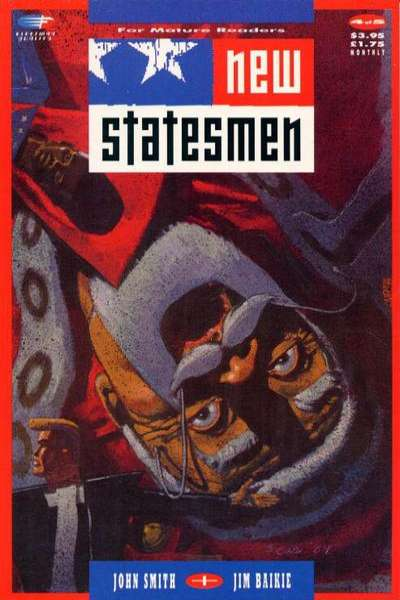New Statesmen #4 comic books for sale
