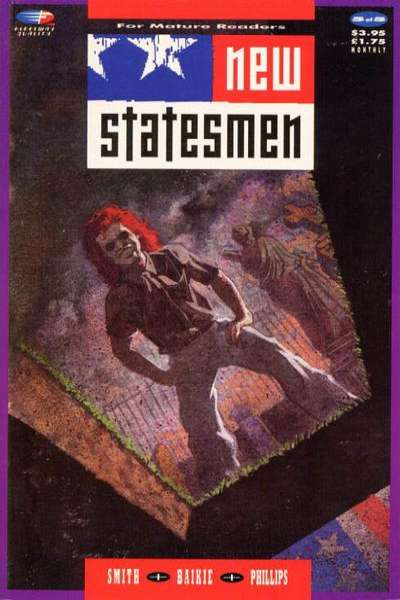 New Statesmen #5 Comic Books - Covers, Scans, Photos  in New Statesmen Comic Books - Covers, Scans, Gallery