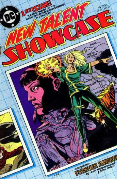 New Talent Showcase  comic books
