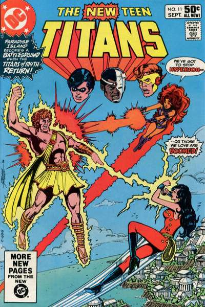 New Teen Titans #11 comic books for sale