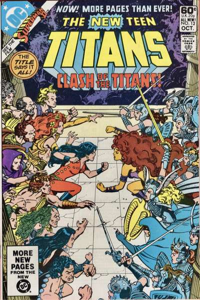 New Teen Titans #12 comic books - cover scans photos New Teen Titans #12 comic books - covers, picture gallery