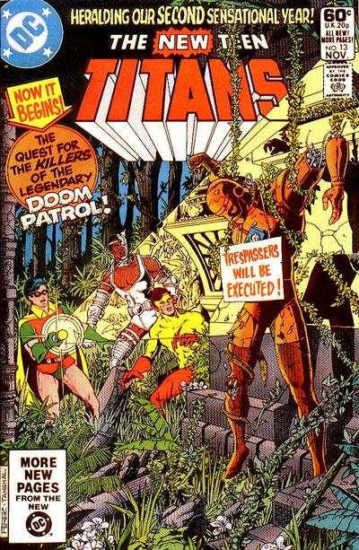 New Teen Titans #13 Comic Books - Covers, Scans, Photos  in New Teen Titans Comic Books - Covers, Scans, Gallery