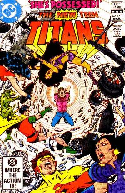 New Teen Titans #17 Comic Books - Covers, Scans, Photos  in New Teen Titans Comic Books - Covers, Scans, Gallery
