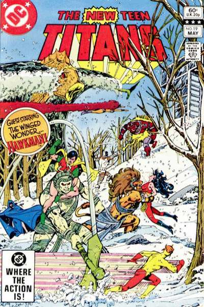 New Teen Titans #19 Comic Books - Covers, Scans, Photos  in New Teen Titans Comic Books - Covers, Scans, Gallery