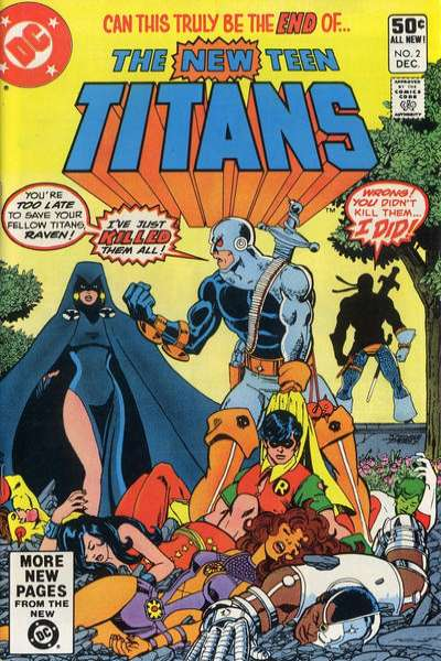 New Teen Titans #2 Comic Books - Covers, Scans, Photos  in New Teen Titans Comic Books - Covers, Scans, Gallery