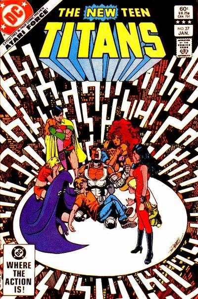 New Teen Titans #27 comic books - cover scans photos New Teen Titans #27 comic books - covers, picture gallery