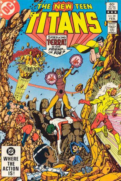 New Teen Titans #28 comic books for sale