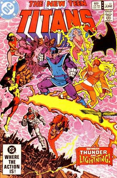 New Teen Titans #32 Comic Books - Covers, Scans, Photos  in New Teen Titans Comic Books - Covers, Scans, Gallery