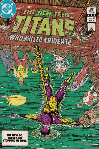 New Teen Titans #33 comic books - cover scans photos New Teen Titans #33 comic books - covers, picture gallery