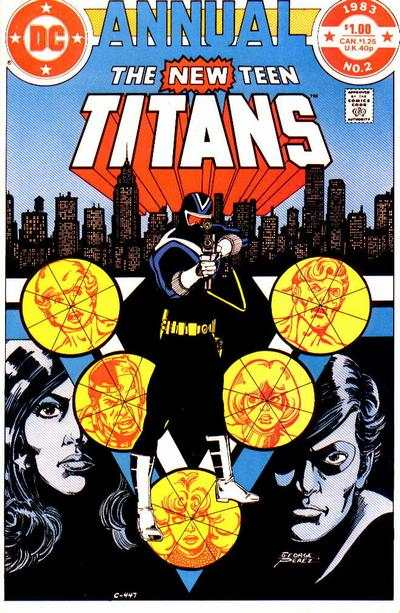 New Teen Titans #2 comic books - cover scans photos New Teen Titans #2 comic books - covers, picture gallery