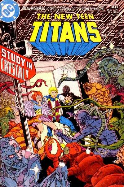 New Teen Titans #10 comic books - cover scans photos New Teen Titans #10 comic books - covers, picture gallery