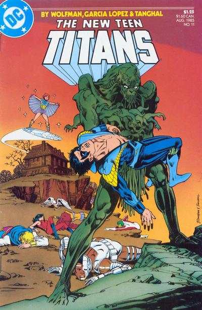 New Teen Titans #11 comic books - cover scans photos New Teen Titans #11 comic books - covers, picture gallery