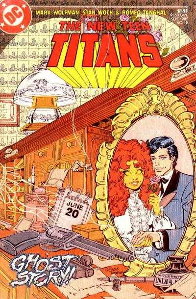 New Teen Titans #12 Comic Books - Covers, Scans, Photos  in New Teen Titans Comic Books - Covers, Scans, Gallery