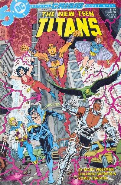 New Teen Titans #13 comic books - cover scans photos New Teen Titans #13 comic books - covers, picture gallery