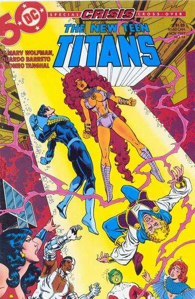 New Teen Titans #14 comic books - cover scans photos New Teen Titans #14 comic books - covers, picture gallery