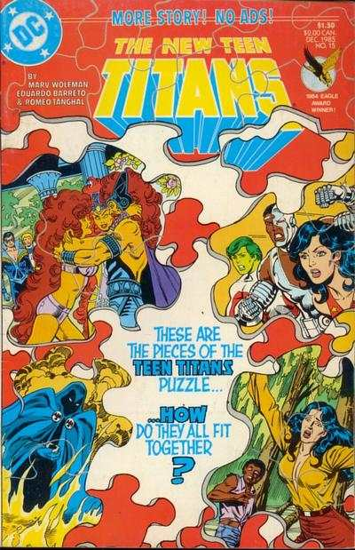 New Teen Titans #15 comic books - cover scans photos New Teen Titans #15 comic books - covers, picture gallery