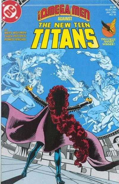 New Teen Titans #16 Comic Books - Covers, Scans, Photos  in New Teen Titans Comic Books - Covers, Scans, Gallery