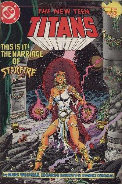 New Teen Titans #17 comic books - cover scans photos New Teen Titans #17 comic books - covers, picture gallery