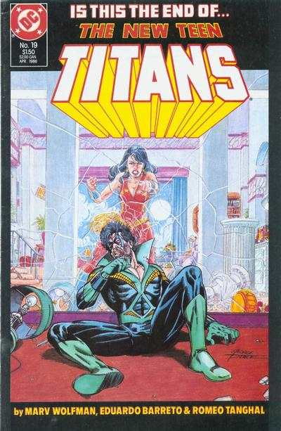 New Teen Titans #19 comic books - cover scans photos New Teen Titans #19 comic books - covers, picture gallery