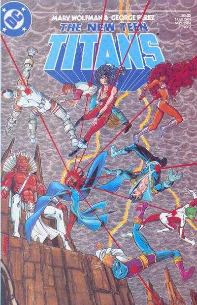 New Teen Titans #3 comic books - cover scans photos New Teen Titans #3 comic books - covers, picture gallery