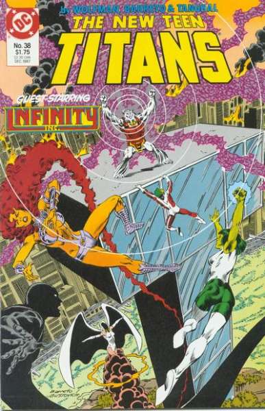 New Teen Titans #38 comic books for sale