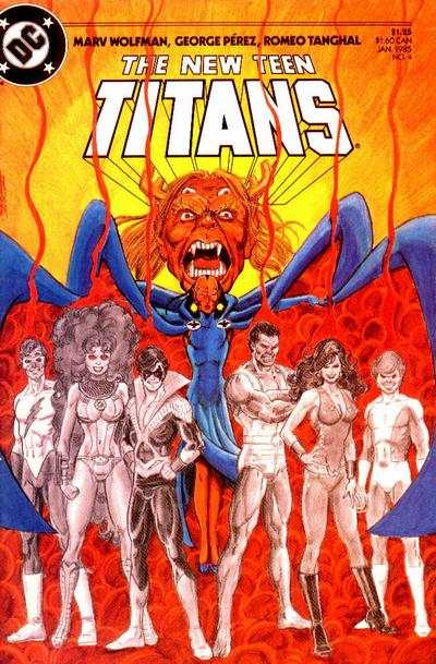 New Teen Titans #4 comic books for sale