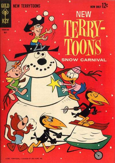 New Terrytoons #3 Comic Books - Covers, Scans, Photos  in New Terrytoons Comic Books - Covers, Scans, Gallery