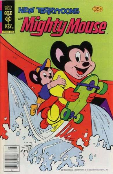 New Terrytoons #50 comic books - cover scans photos New Terrytoons #50 comic books - covers, picture gallery